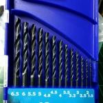 ดอกสว่านเจาะเหล็ก APEX 13 ตัวชุด 1.5-6.5 มม.