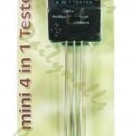 เครื่องวัดค่าความชื้น, ความเข้มแสงแดด, กรด-ด่าง และไนโตรเจน-ฟอสฟอรัส-โพแทสเซียมในดิน (Soil Tester Moisture pH Light NPK 4 in 1) Rapitest 1818