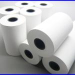 """10 ม้วน กระดาษความร้อน กระดาษเครื่องพิมพ์ใบเสร็จ Thermal Papar กระดาษใบเสร็จ กระดาษสลิป 2"""" 57 mm. เส้นผ่านศูนย์กลาง40 มม. ยาว15เมตร (เกรด A จากญี่ปุ่น)"""