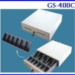 ลิ้นชักเก็บเงินสด ลิ้นชักเก็บธนบัตร เครื่องเก็บเงิน Cash drawer Cash box GS-400C (สำหรับธนบัตรไทยโดยเฉพาะ 4 ช่อง)