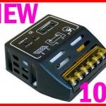 โซล่าชาร์จเจอร์ Solar Panel Charger Controller Regulator 10A 12V/24V