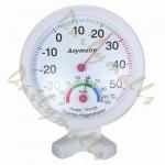 เครื่องวัดอุณหภูมิ และความชื้น แบบอนาล็อก (Hygrometer Temperature & Humidity Gauge)