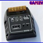 โซล่าชาร์ทเจอร์ Solar Panel Charger Controller Regulator 12V/6A