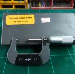 ไมโครวัดนอกยี่ห้อ PILOT ขนาด 25-50 mm.(0.01mm.)