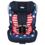 คาร์ซีท Fico รุ่น FC968 Augus Plus Iso Fix สี Captain American (คาร์ซีทรุ่นนี้เหมาะกับเด็กอายุ 9 เดือน - 12 ปี)