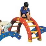 บันไดปีนป่าย สะพานโค้งสำหรับเด็ก ฝึกการทรงตัว