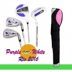 อายุ 8-12 ขวบ ชุดไม้กอล์ฟเด็ก ผู้หญิง PGM USA Kids Golf Set Junior girl Slim