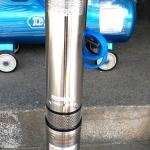 ปั๊มบาดาล 1.5 แรงม้า ยี่ห้อ LEAL Model 4QJD6-40/8-1.5