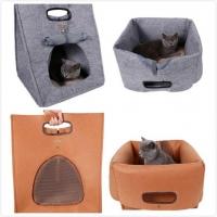 ที่นอนแมว กระเป๋าใส่น้องแมว ที่นอนกระเป๋าน้องหมา ที่นอนสารพัดประโยชน์ พร้อมเบาะรอง