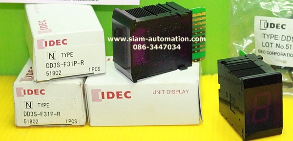 DD3S-F31P-R DIGITAL DISPLAY - Siam Automation ศูนย์รวม