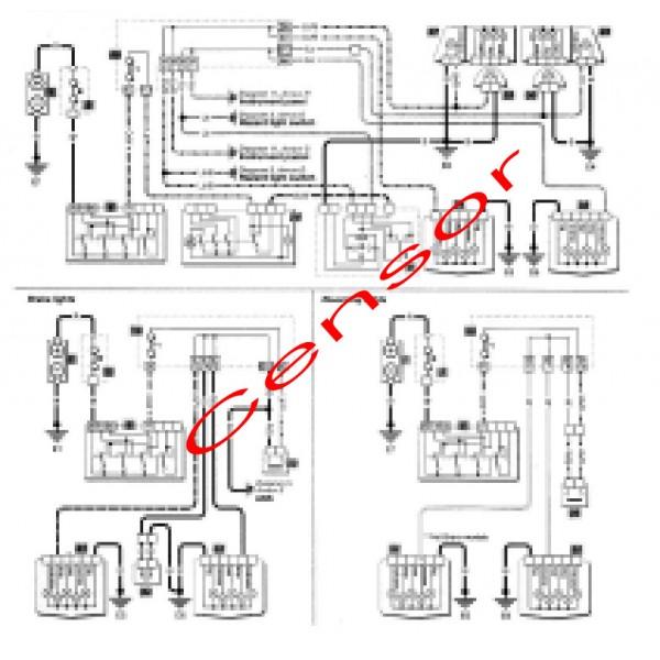 คู่มือซ่อมและ WIRING DIAGRAM FIAT BRAVO & BRAVA ปี 1995-2000 รหัสสินค้า FT-005