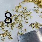 โลหะทอง#2 (100ชิ้น)