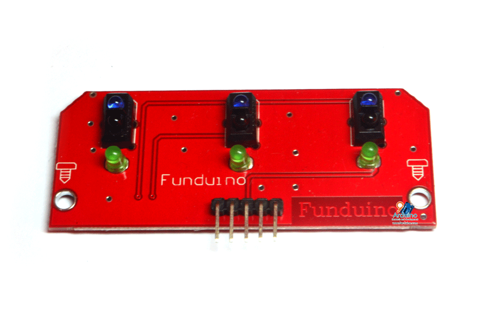 TCRT5000 3-Channel Line Tracking Sensor Module