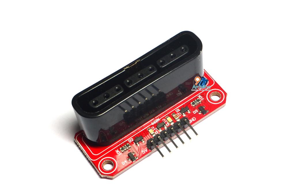 Adapter JoyStick PS2 playstation SPI หัวแปลง PS2 เป็น SPI For Arduino