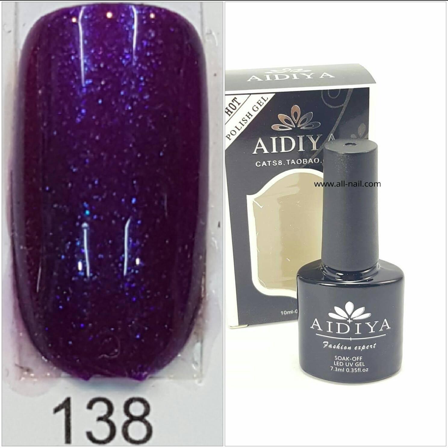 สีเจลทาเล็บ AIDIYA #138