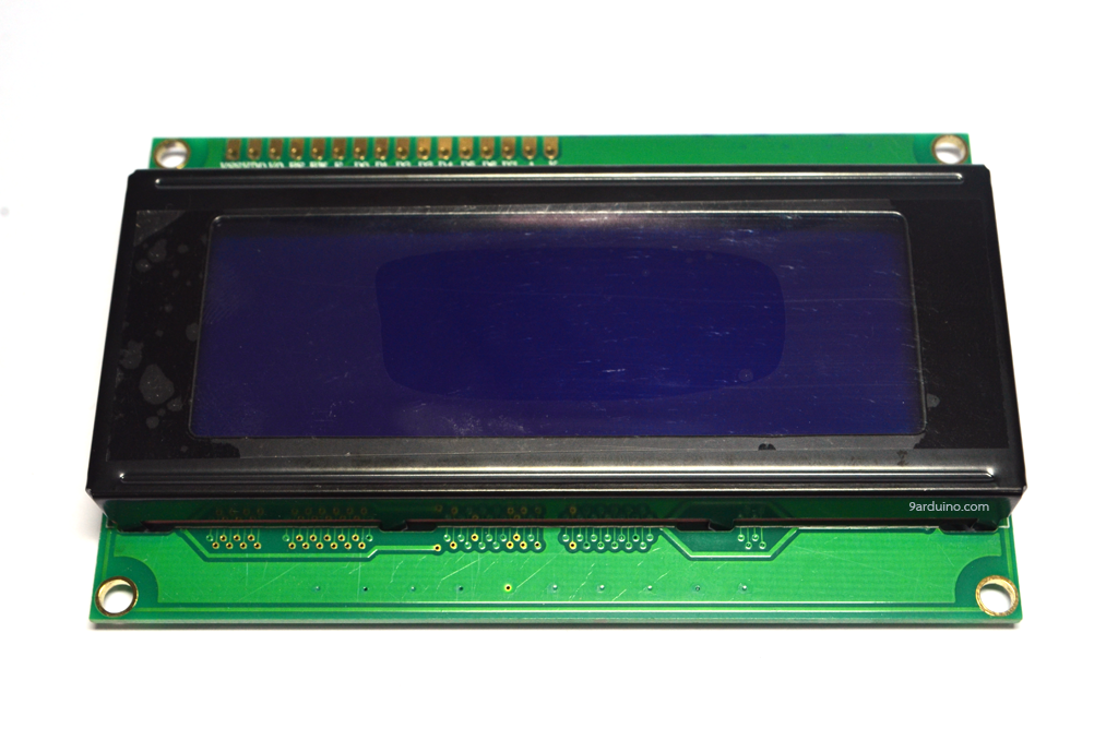 2004 LCD (Blue Screen) with backlight of the LCD screen