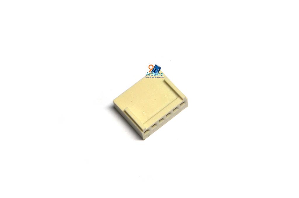 KF2510 2.54mm 6P connectors Female plug plastic shell