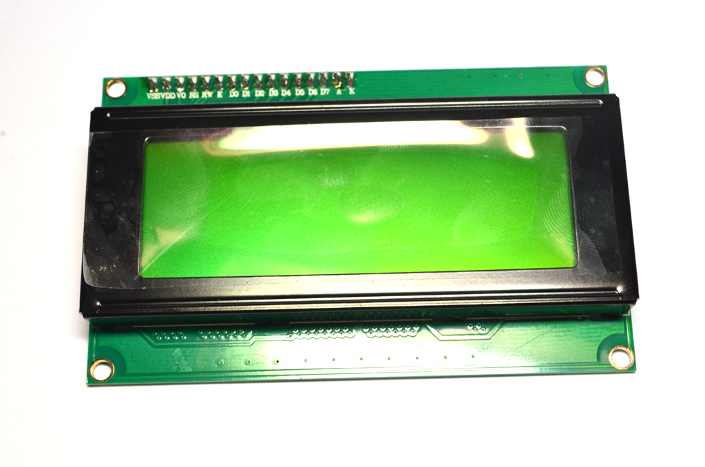 I2C/IIC 2004 LCD (Green Screen) with backlight of the LCD screen