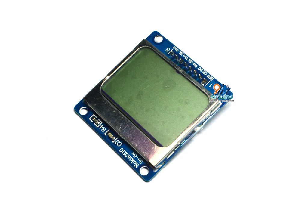 Graphic LCD 84x48 - Nokia 5110 (GLCD5110)