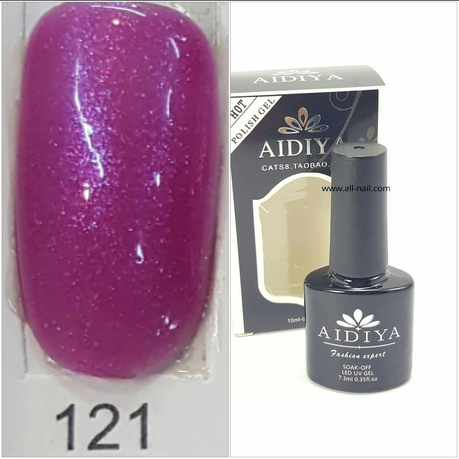 สีเจลทาเล็บ AIDIYA #121