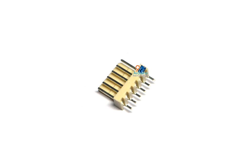 KF2510 2.54mm 6P connectors male plug plastic shell