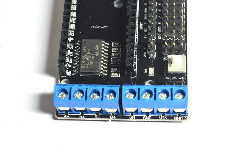 บอร์ดขับมอเตอร์สำหรับ ESP8266 NodeMCU V2