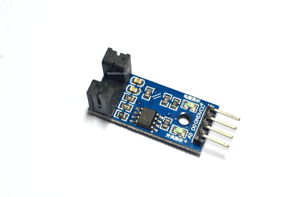 เซนเซอร์นับจำนวน Counter module motor speed sensor II