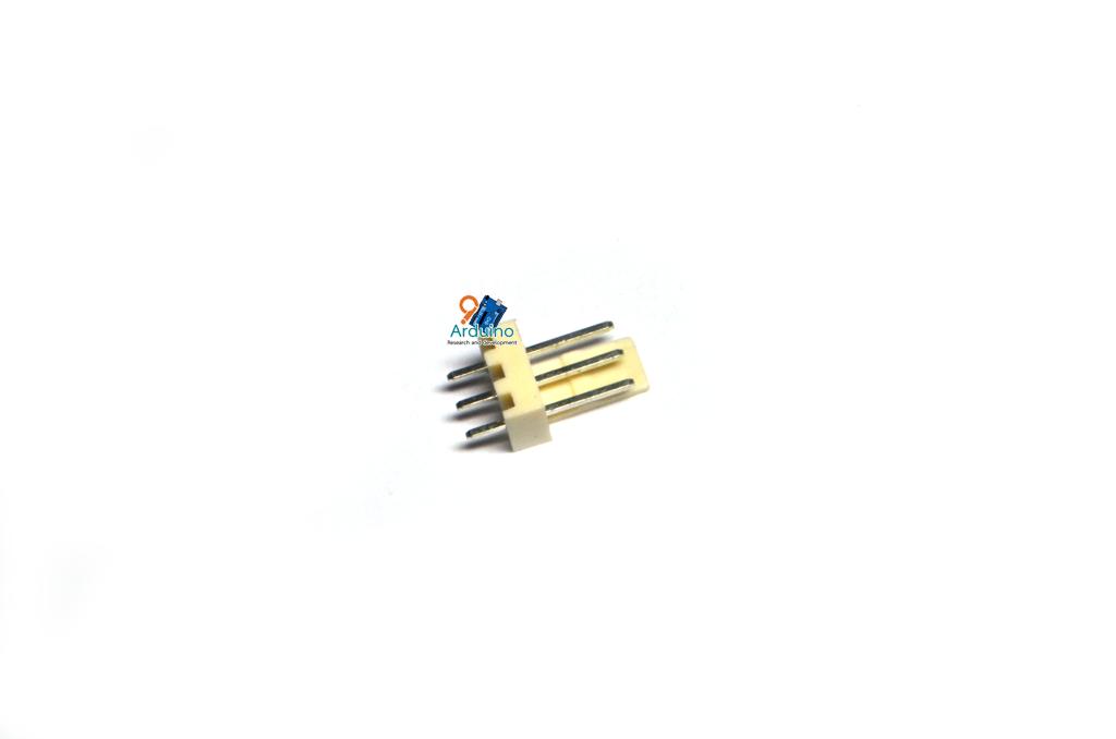 KF2510 2.54mm 3P connectors male plug plastic shell
