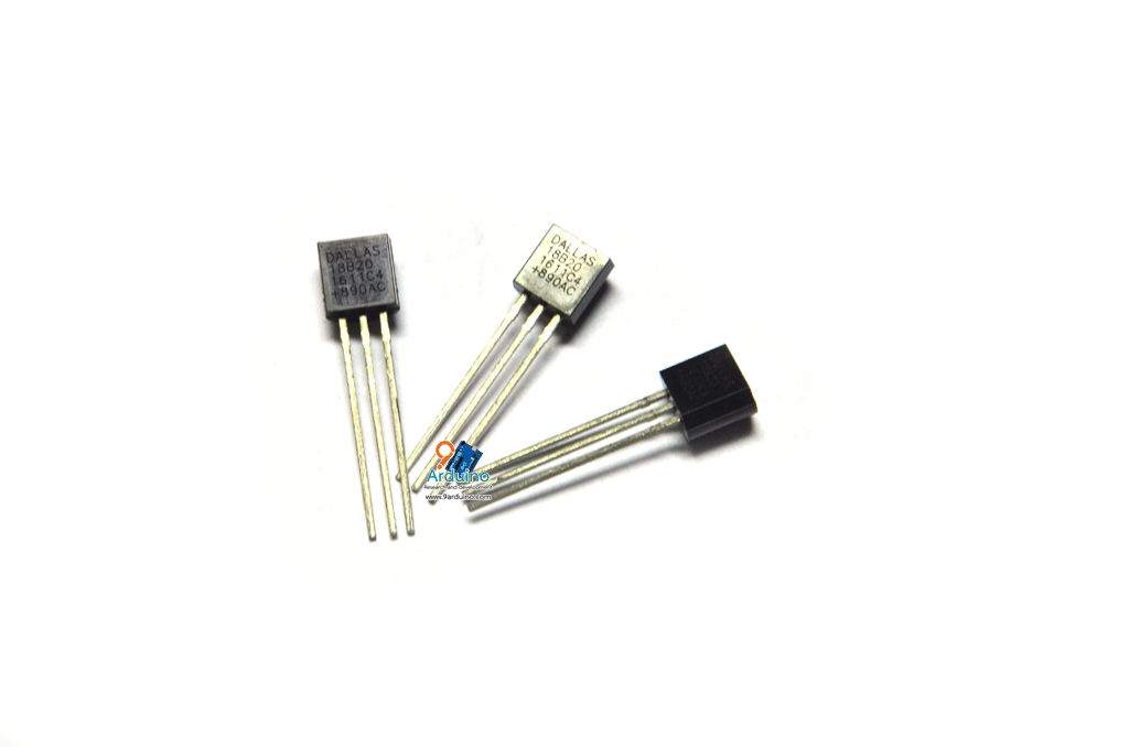 IC DS18B20 เซนเซอร์อุณหภูมิ แถม R4.7K