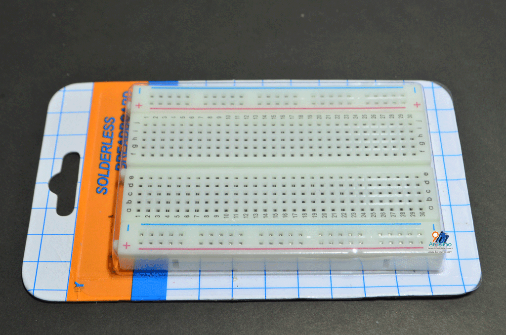 บอร์ดทดลอง Protoboard Breadboard 400 holes