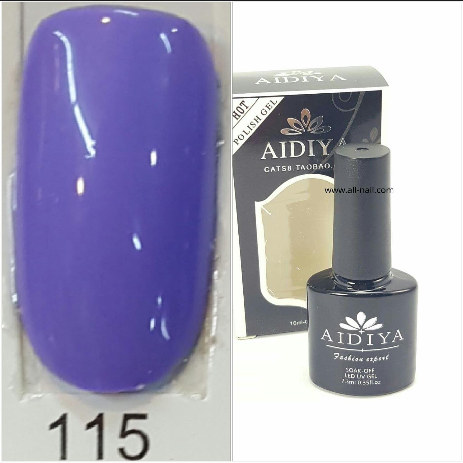 สีเจลทาเล็บ AIDIYA #115