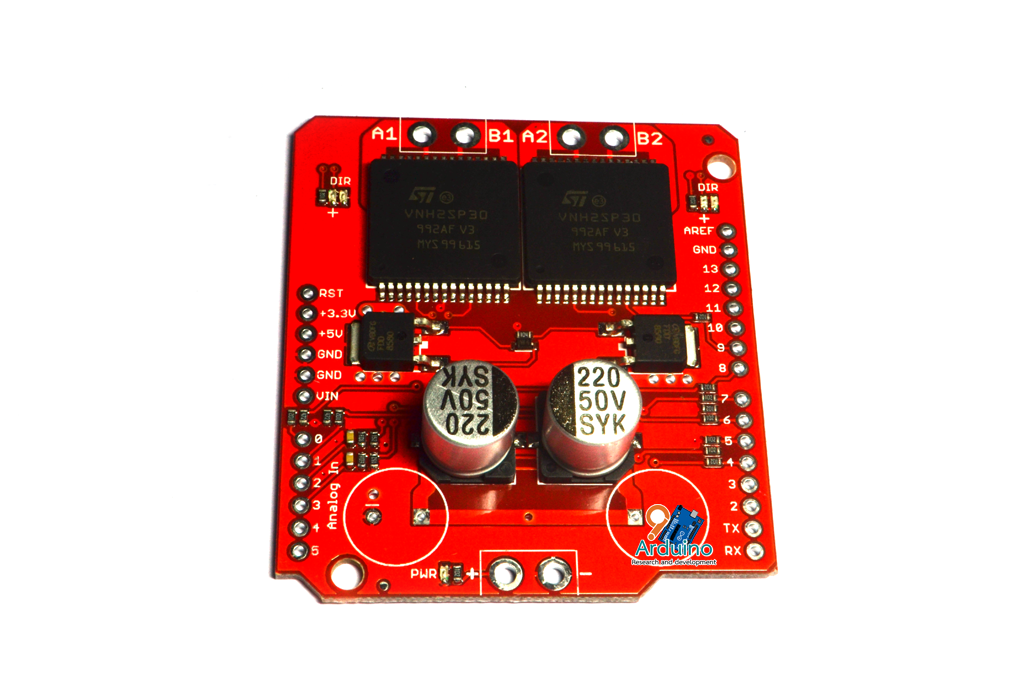 Shield Motor drive Arduino VNH2SP30 30A High Current Motor Full-bridge Driver for Arduino
