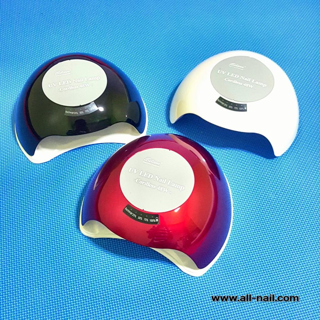 เครื่องอบเล็บ LED/UV 48w (สามารถชาร์จไฟได้)