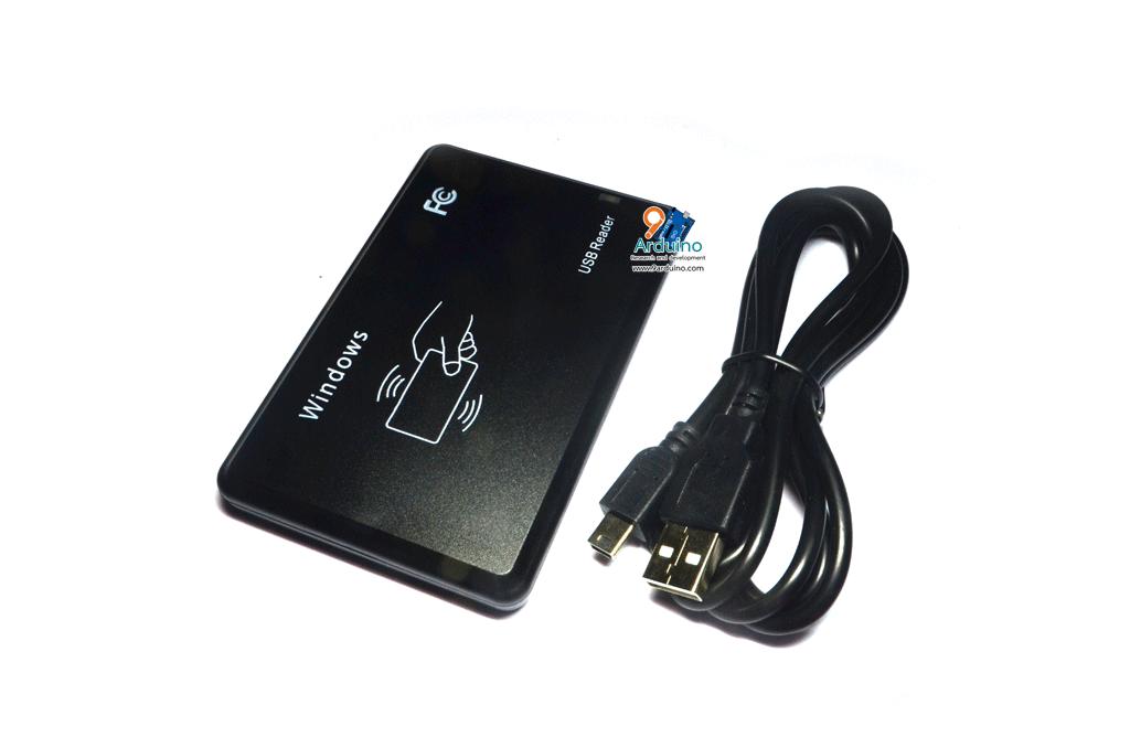 RFID USB Reader 125Khz JT308 เครื่องอ่าน RFID แบบ USB ความถี่ 125 khz