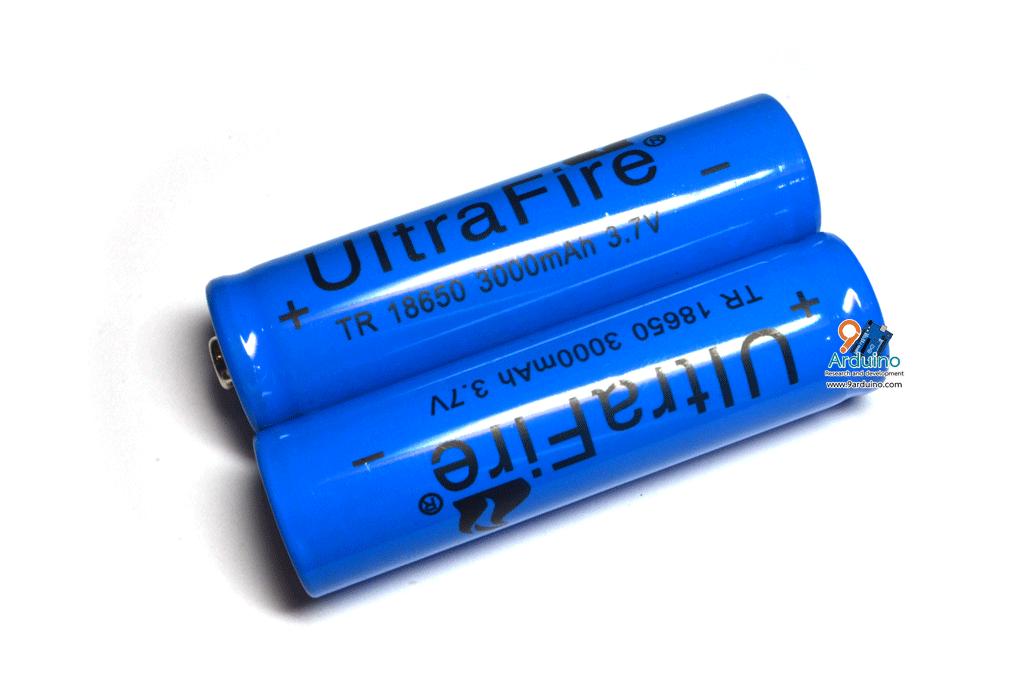 ถ่านชาร์จ Ultrafire 18650 3.7V 3000mAh