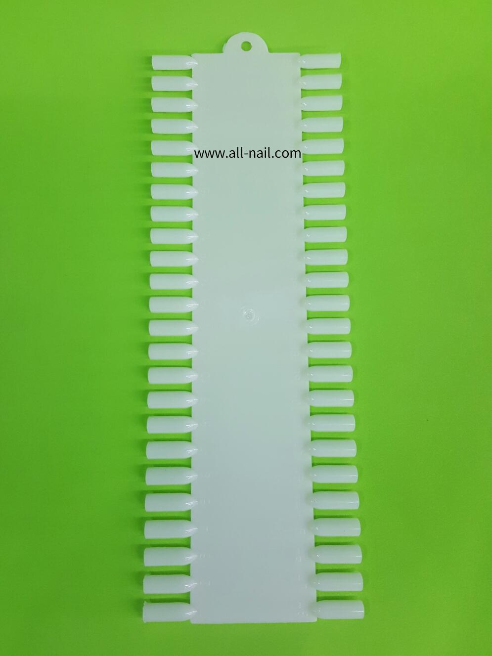 ชาร์ตโชว์เล็บปลอม 1ชิ้น (สี่เหลี่ยม)