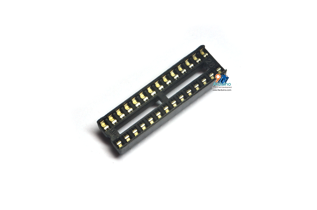 ซ็อคเก็ต Socket 28 pin DIP IC Sockets Arduino