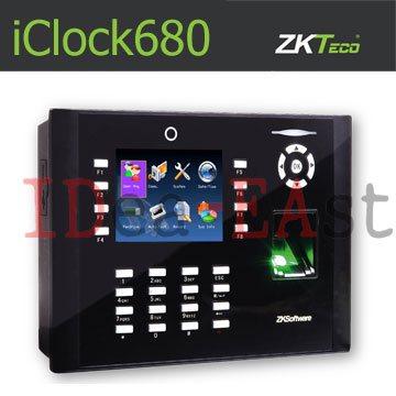 เครื่องสแกนลายนิ้วมือ ควบคุมประตู ZKT iClock680 พร้อม Access Control System