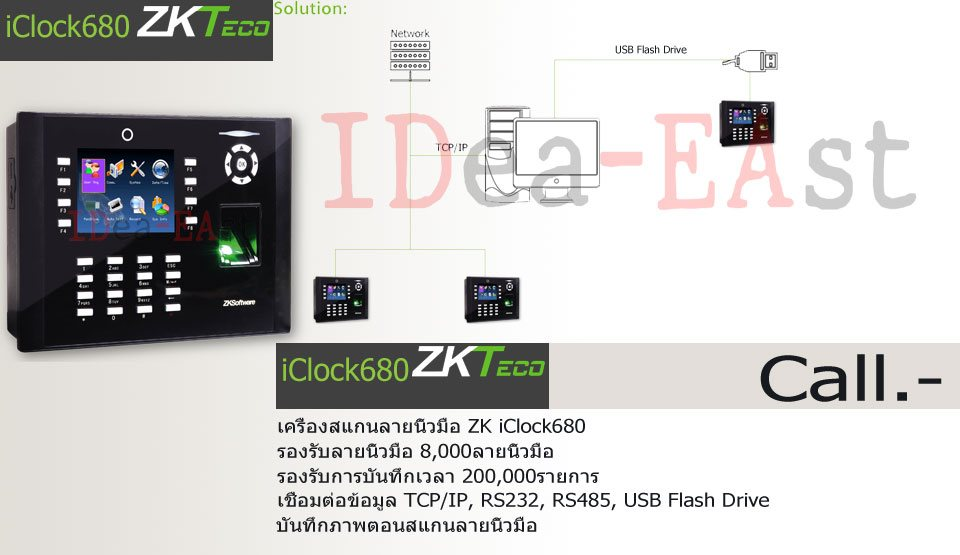 Pormotion-ZKT-iClcok680-Time