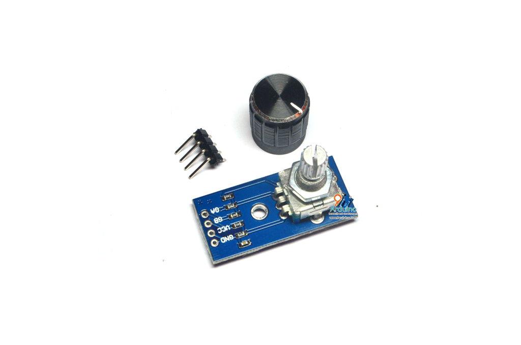 Rotary Encoder 360 Module Brick Sensor และ ฝาครอบวอลลุ่ม