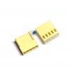 KF2510 2.54mm 5P connectors Female plug plastic shell