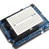 Arduino Uno ProtoShield พร้อม Breadboard