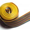 สายแพร 28AWG 40 เส้น สีรุ้ง (Ribbon Flat Cable 28AWG 40 Ways)