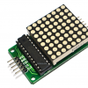 LED Matrix Driver Module + LED Dot Matrix 8x8 ขนาด 40mm x 40mm