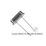 Crystal 20MHZ HC-49S 20M 20.00MHZ