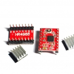 H4988 Stepper Motor Driver Module (for 3D Printer) + Heatsink (ไดร์แดง)