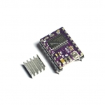 DRV8825 Stepper Motor Driver Module (for 3D Printer) + Heatsink (ไดร์ม่วง)