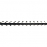 ก้างปลา แบบขาตั้งฉาก 40 ขา 2.54mm Right Angle Male Single Row Pin Header Connectors