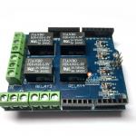 Arduino Relay Shield 4 Channel รีเลย์ 4 ช่อง