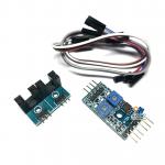 เซนเซอร์นับจำนวน Counter module motor speed sensor ตรวจจับ 2 จุด พร้อมสายไฟ